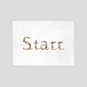 Starr Seashells 5'x7' Area Rug