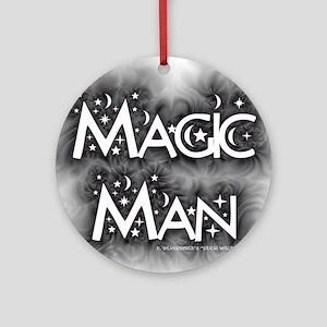 Magic Man (Pagam/Wiccan Ornament Round)