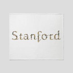 Stanford Seashells Throw Blanket