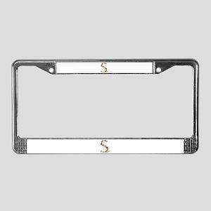 S Seashells License Plate Frame