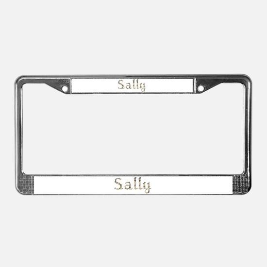 Sally Seashells License Plate Frame