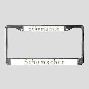 Schumacher Seashells License Plate Frame