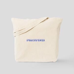 Porcupines-Max blue 400 Tote Bag