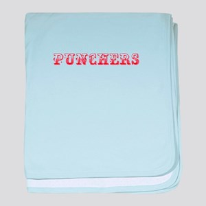 Punchers-Max red 400 baby blanket