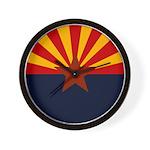 Arizona Flag Wall Clock