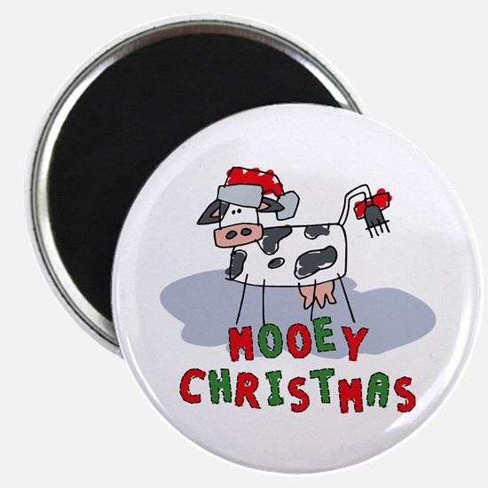 Mooey Christmas Magnet