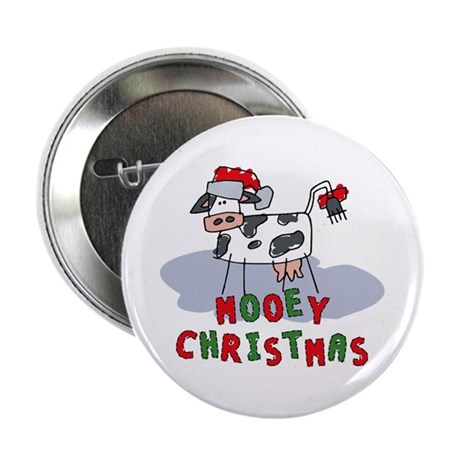 Mooey Christmas Button