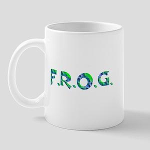Aqua FROG Scales Mug