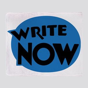 Write Now Throw Blanket