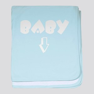 baby-wht baby blanket