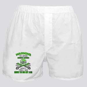 Mechanic Serious Injury Boxer Shorts
