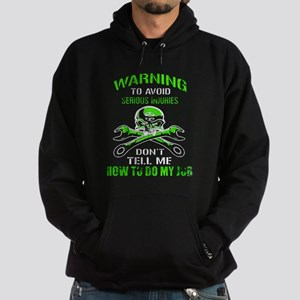 Mechanic Serious Injury Hoodie