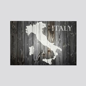 Italy Map Rectangle Magnet