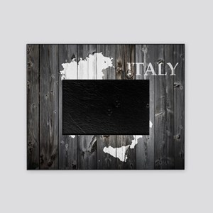 Italy Map Picture Frame