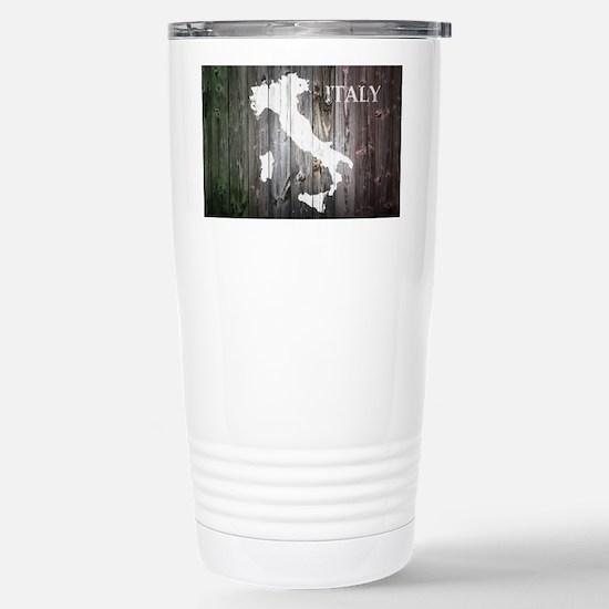 Italy Map Stainless Steel Travel Mug