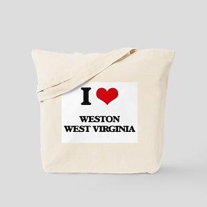 I love Weston West Virginia Tote Bag
