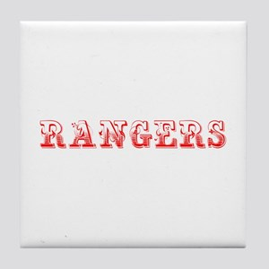 Rangers-Max red 400 Tile Coaster