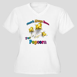 Always Room Women's Plus Size V-Neck T-Shirt