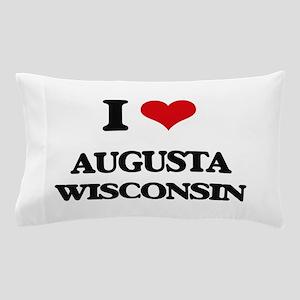 I love Augusta Wisconsin Pillow Case