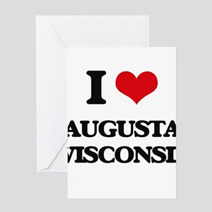 I love Augusta Wisconsin Greeting Cards