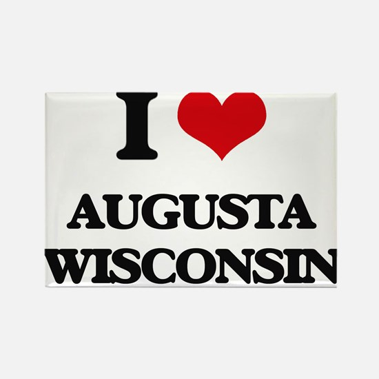 I love Augusta Wisconsin Magnets