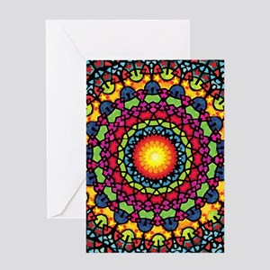Warmth of a Thousand Suns Greeting Cards