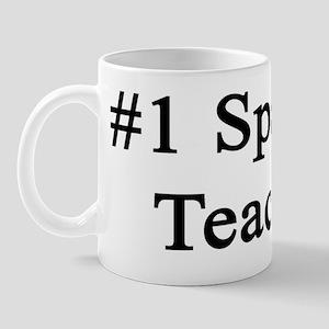 #1 Spanish Teacher  Mug