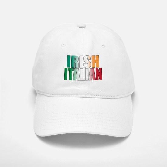 Irish Italian Baseball Baseball Cap