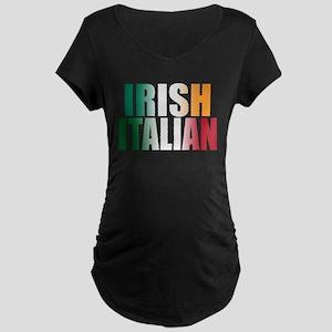 Irish Italian Maternity Dark T-Shirt