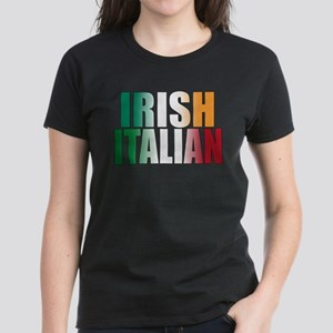 Irish Italian Women's Dark T-Shirt
