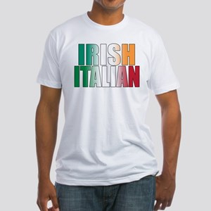 Irish Italian Fitted T-Shirt