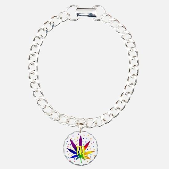 Rainbow Marijuana Scorpi Bracelet