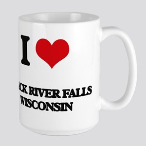 I love Black River Falls Wisconsin Mugs