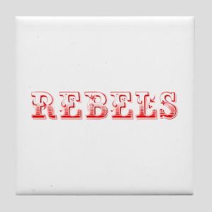 Rebels-Max red 400 Tile Coaster