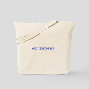 Red Raiders-Max blue 400 Tote Bag