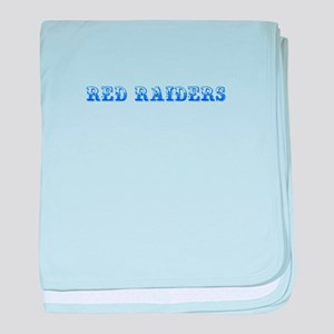 Red Raiders-Max blue 400 baby blanket