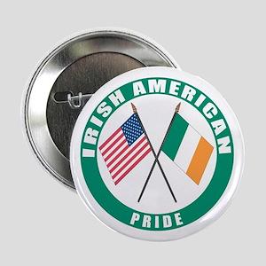 Irish American pride Button