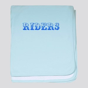 Riders-Max blue 400 baby blanket