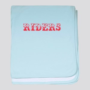 Riders-Max red 400 baby blanket