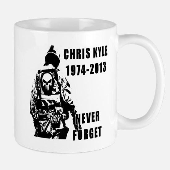 Christ Kyle Never Forget Mugs