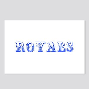 Royals-Max blue 400 Postcards (Package of 8)