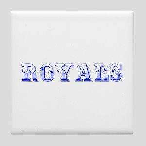 Royals-Max blue 400 Tile Coaster
