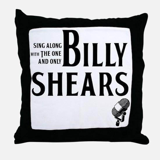 Billy Shears Throw Pillow