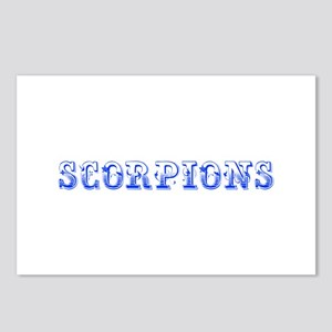 Scorpions-Max blue 400 Postcards (Package of 8)