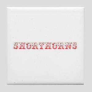 Shorthorns-Max red 400 Tile Coaster