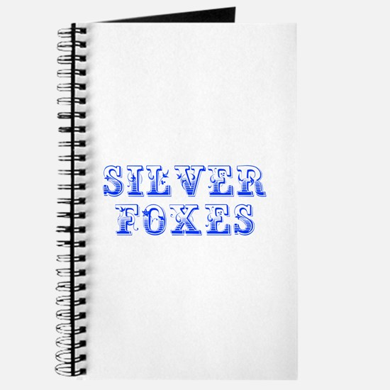 Silver Foxes-Max blue 400 Journal
