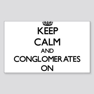 Keep Calm and Congenial ON Sticker