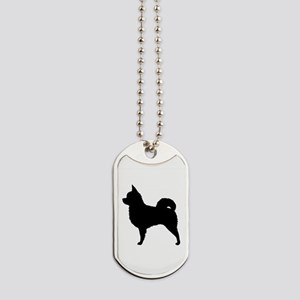 Long Haired Chihuahua Dog Tags