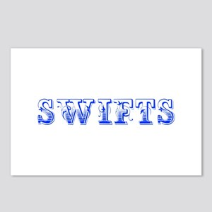 Swifts-Max blue 400 Postcards (Package of 8)