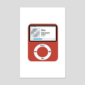 Ipad Oboe Mini Poster Print
